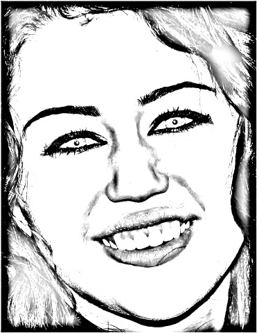 miley cyrus coloring pages printable - photo#21