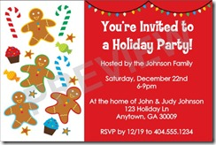 holiday party invitations Archives