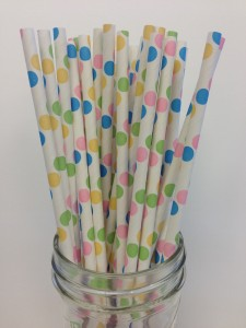Paper Straws for your Party