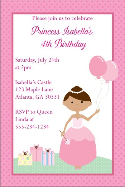 Princess Invitation 7