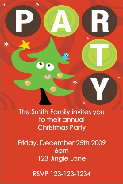 Christmas / Holiday Party Invitation