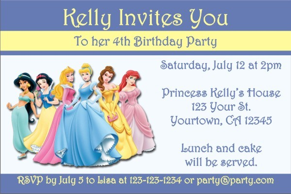 Princess Invitation 2