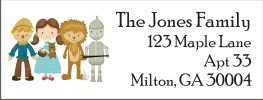 Wizard of Oz Return Address Labels