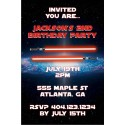 Star Wars inspired Feel the Force Invitation