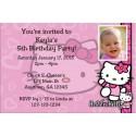 Hello Kitty Photo Invitations