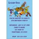 Scooby Doo Invitations