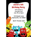 Little Monsters Invitation - Colorful Gang