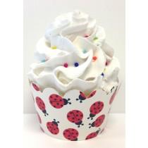ladybug cupcake wrappers