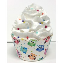 owl cupcake wrappers