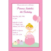 Princess Invitation 6