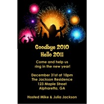 Party People New Years Eve 2011 Party Invitation