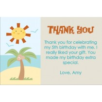 Beach Thank You Cards 2
