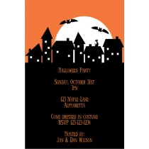 Spooky Neighborhood Halloween Party Invitation