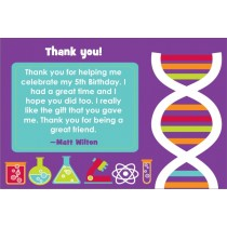 Monster Science Thank You Card - DNA