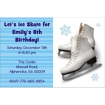 Ice Skating Party Invitation