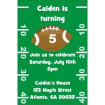Football Invitation 2