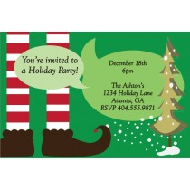 Santa's Helper Christmas Holiday Party Invitation