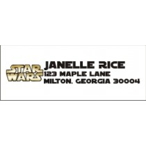 Star Wars Return Address Labels