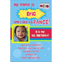 Yo Gabba Gabba inspired Photo Invitation