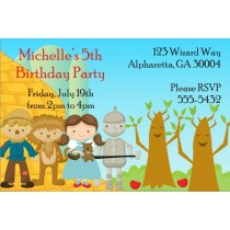 Wizard of Oz Invitation - Happy Trees