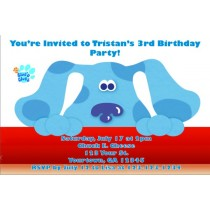 Blue's Clues Invitations