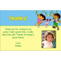 Dora and Diego Thank You Cards