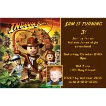 Lego INDIANA JONES Invitation