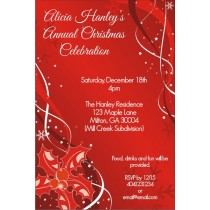 Tis the Season Christmas Holiday Card Party Invitation