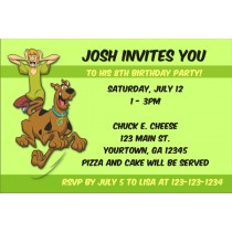 Scooby Doo Invitations 2