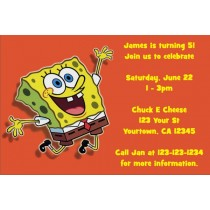 Spongebob Squarepants Invitations 3