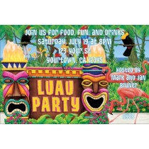 Luau Party Invitations 2