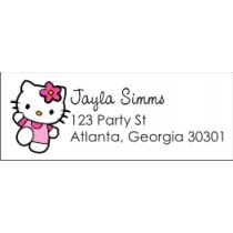 Hello Kitty Return Address Labels