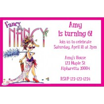 Fancy Nancy Party Invitation