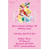 Disney Princess Invitation