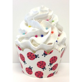 Ladybug Lady Bug Cupcake Wrappers 24ct