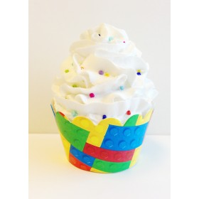 Building Blocks Cupcake Wrappers - 24ct