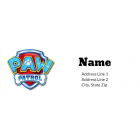 Paw Patrol Return Address Labels