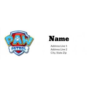 Paw Patrol Return Address Labels