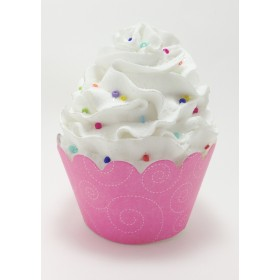 Pink Swirls Cupcake Wrappers - 24ct