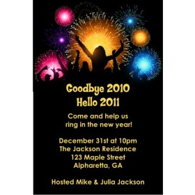 Party People New Years Eve Party Invitation