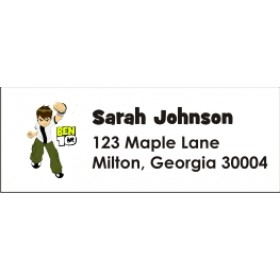 Ben 10 Return Address Labels