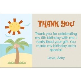 Beach Thank You Cards 2