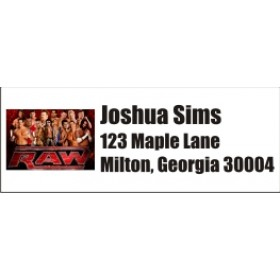 Wrestling Return Address Labels