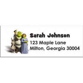 Shrek Personalized Return Address Labels