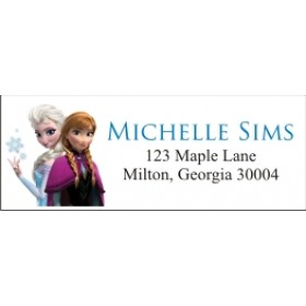 Frozen (Movie) Return Address Labels