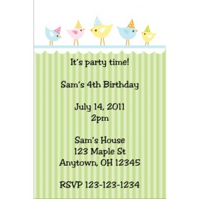 Party Birds Invitation