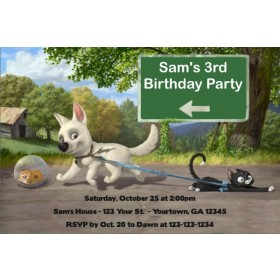 Bolt (Disney) Invitations