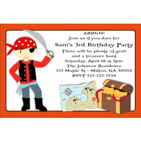 Pirate Invitation 2