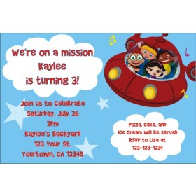 Little Einsteins Invitations