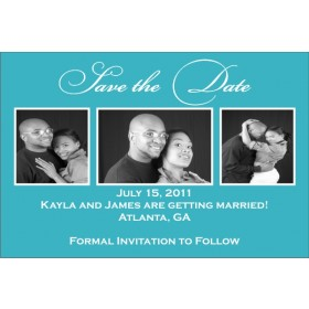 Save the Date Photo Invitation 3